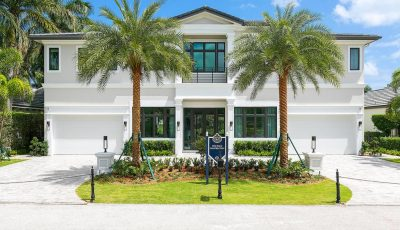 Chic & Contemporary New Construction in Royal Palm Yacht & Country Club.