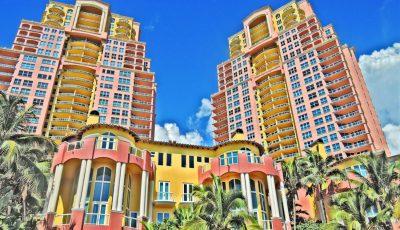 Unit 4B & 5B tower 2 at Palms (2110 N Ocean Blvd, Fort Lauderdale, Fl) 3D Model