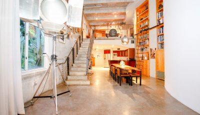 Art Deco Penthouse: 2-Story Industrial PH Loft