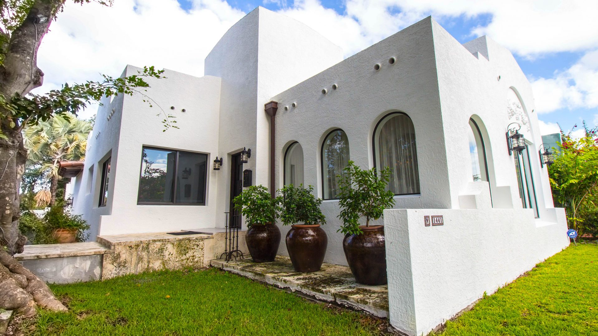 Old spanish contemporary showcase for 2300 sw 22 terrace