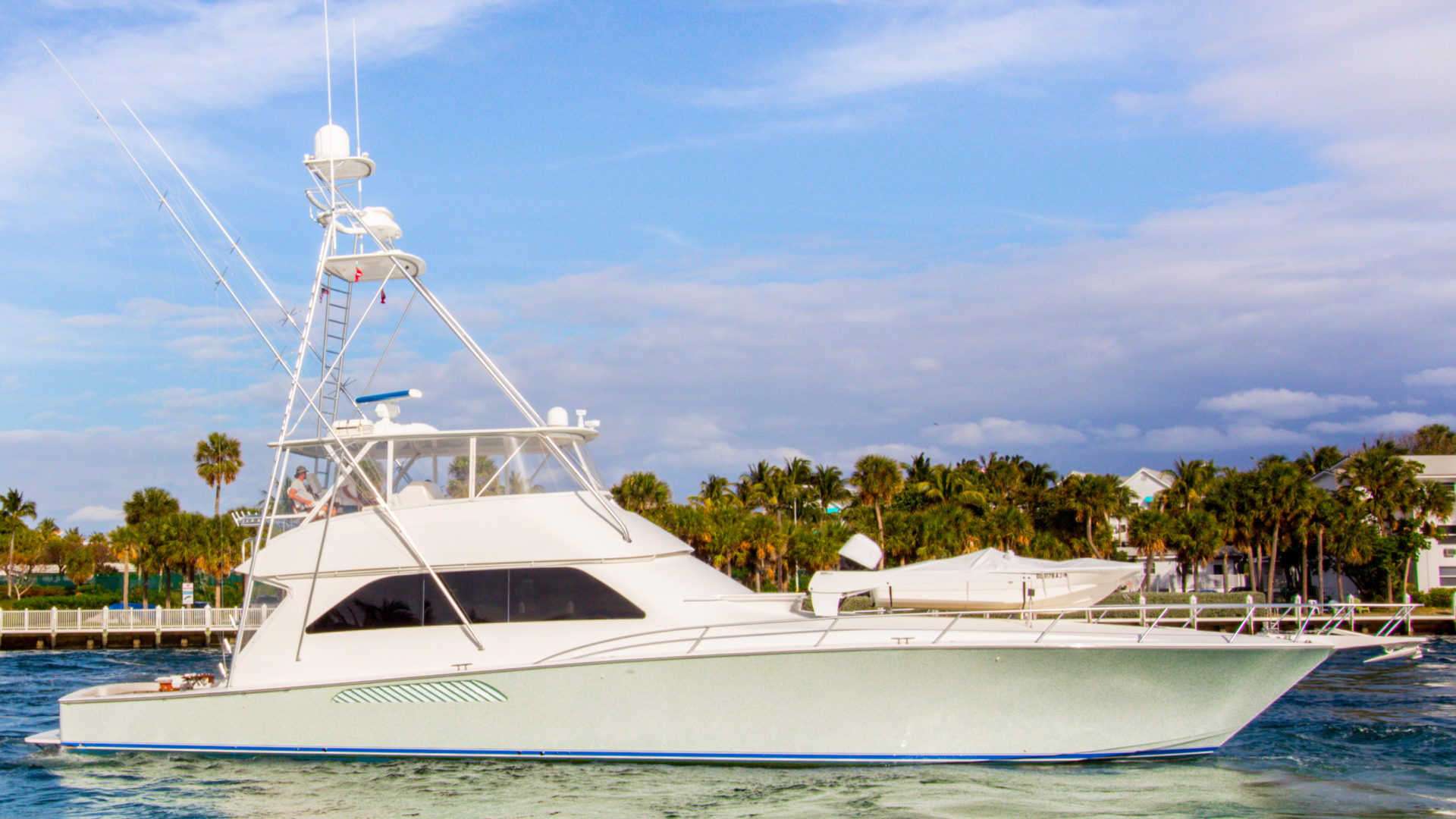 "74' Viking 2007 ""Maverick"" for sale by Michele Renick, Merritt Boat & Engine Works, Pompano ..."