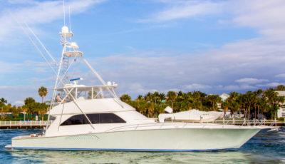 "74' Viking 2007 ""Maverick"" for sale by Michele Renick, Merritt Boat & Engine Works, Pompano Beach, FL 3D Model"