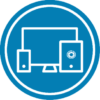 BLUE AccuTour Media Logo