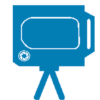 Blue Matterport Icon - AccuTour