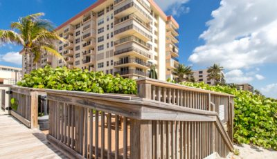 Elegant ocean front luxury offered at $325,000