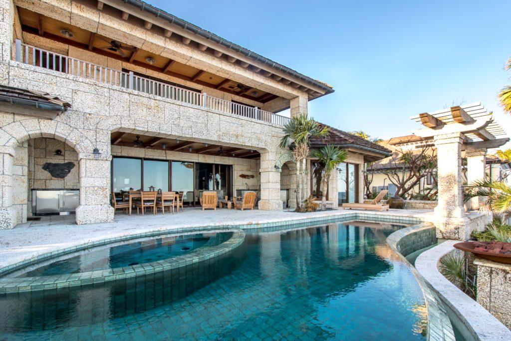Real Estate Photography Key Largo Florida Pool Image Florida - Ocean Reef Club