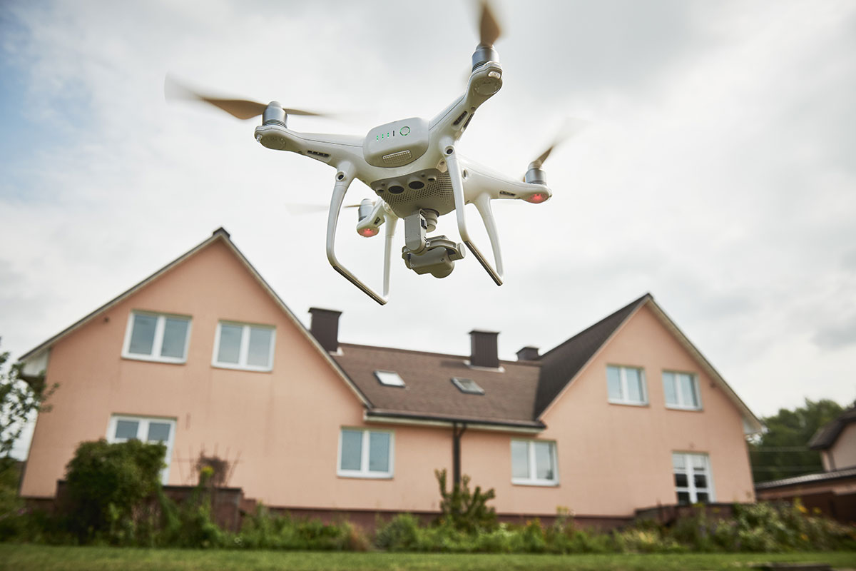 How Drones Improve Property Management
